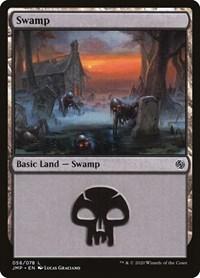 Swamp (56), Magic: The Gathering, Jumpstart