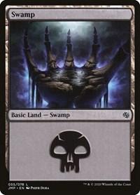 Swamp (55), Magic: The Gathering, Jumpstart