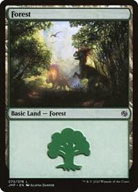 Forest (73), Magic: The Gathering, Jumpstart