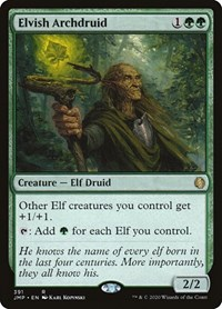 Elvish Archdruid, Magic, Jumpstart
