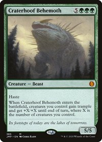 Craterhoof Behemoth, Magic, Jumpstart