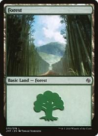 Forest (75), Magic: The Gathering, Jumpstart