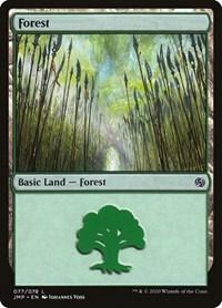 Forest (77), Magic: The Gathering, Jumpstart
