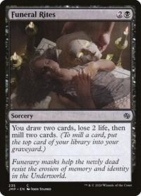 Funeral Rites, Magic, Jumpstart