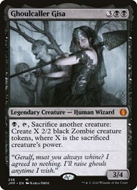 Ghoulcaller Gisa, Magic, Jumpstart