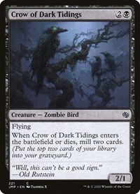 Crow of Dark Tidings, Magic, Jumpstart