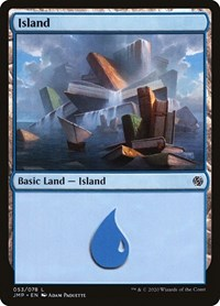 Island (53), Magic: The Gathering, Jumpstart