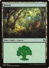 Forest (74), Magic: The Gathering, Jumpstart