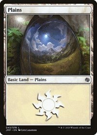 Plains (43), Magic: The Gathering, Jumpstart