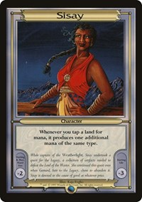 Sisay (Oversize), Magic, Vanguard