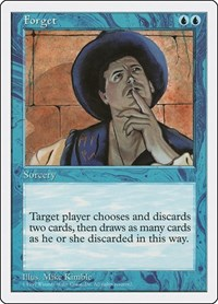 Forget, Magic, Fifth Edition