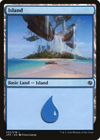 Island (52), Magic: The Gathering, Jumpstart