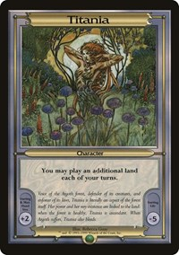 Titania (Oversize), Magic: The Gathering, Vanguard