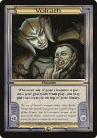 Volrath (Oversize), Magic: The Gathering, Vanguard