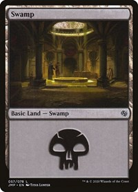 Swamp (57), Magic: The Gathering, Jumpstart