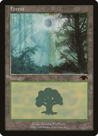 Forest - Guru, Magic: The Gathering, Guru Lands