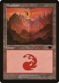 Mountain - Guru, Magic: The Gathering, Guru Lands