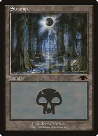 Swamp - Guru, Magic: The Gathering, Guru Lands
