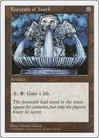 Fountain of Youth, Magic, Fifth Edition