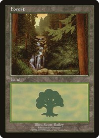 Forest - Schwarzwald, Magic: The Gathering, European Lands