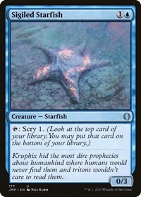 Sigiled Starfish, Magic: The Gathering, Jumpstart