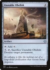 Unstable Obelisk, Magic: The Gathering, Jumpstart