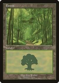 Forest - Broceliande, Magic: The Gathering, European Lands