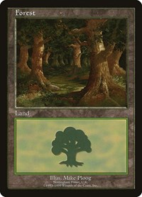 Forest - Nottingham, Magic: The Gathering, European Lands