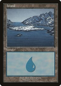 Island - Danish Island, Magic: The Gathering, European Lands