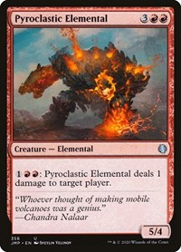 Pyroclastic Elemental, Magic, Jumpstart