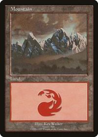 Mountain - Vesuvio, Magic: The Gathering, European Lands