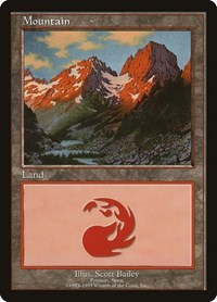 Mountain - Pyrenees, Magic: The Gathering, European Lands