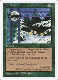 Foxfire, Magic: The Gathering, Fifth Edition
