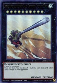 Superdreadnought Rail Cannon Gustav Max, YuGiOh, The Lost Art Promotion
