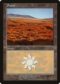Plains - Steppe Tundra, Magic: The Gathering, European Lands