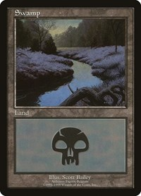 Swamp - Ardennes Fagnes, Magic: The Gathering, European Lands