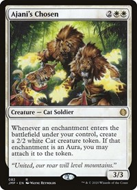 Ajani's Chosen, Magic: The Gathering, Jumpstart