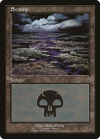 Swamp - Camargue, Magic: The Gathering, European Lands