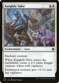 Knightly Valor, Magic: The Gathering, Jumpstart
