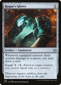 Rogue's Gloves, Magic: The Gathering, Jumpstart