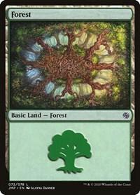 Forest (72), Magic: The Gathering, Jumpstart