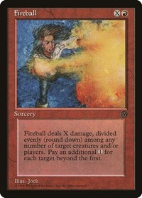 Fireball, Magic: The Gathering, Arena Promos