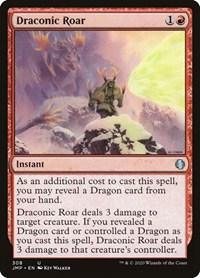 Draconic Roar, Magic, Jumpstart