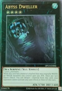 Abyss Dweller, YuGiOh, OTS Tournament Pack 13
