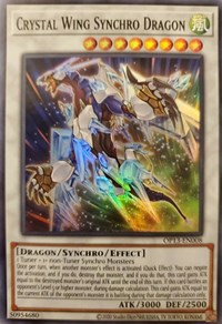 Crystal Wing Synchro Dragon, YuGiOh, OTS Tournament Pack 13
