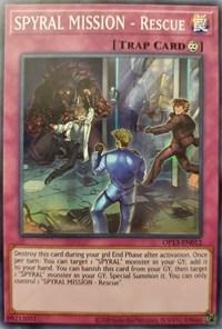 SPYRAL MISSION - Rescue, YuGiOh, OTS Tournament Pack 13