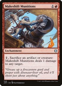 Makeshift Munitions, Magic: The Gathering, Jumpstart