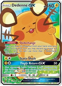 Dedenne GX - 195a/214, Pokemon, Alternate Art Promos
