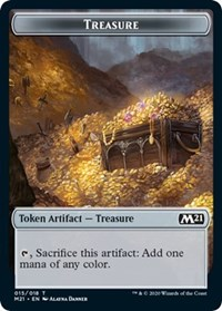 Treasure Token, Magic, Core Set 2021