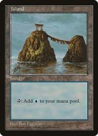 Island - Blue Pack (Eggleton), Magic: The Gathering, APAC Lands